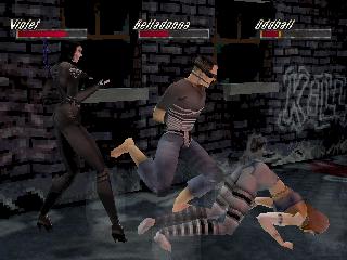 Screenshot Thumbnail / Media File 1 for Thrill Kill [U]